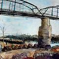 Walnut Street Bridge by Julie Galante