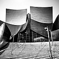 Walt Disney Concert Hall In Black And White by Paul Velgos