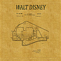 Walt Disney Patent 5 by Andrew Fare
