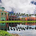 Walt Disney World Swan Hotel  by Carlos Diaz