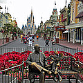 Walt Disney World Transportation 3 Panel Composite 02 by Thomas Woolworth