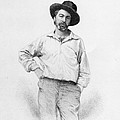 Walt Whitman Frontispiece To Leaves Of Grass by American School