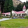 Walter Peak Farm New Zealand by Douglas Barnett