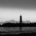 Walton Lighthouse Bw by Deana Glenz