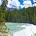 Wapta Falls In Yoho Np-bc  by Ruth Hager