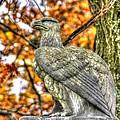 War Eagles - 28th Massachusetts Volunteer Infantry Rose Woods The Wheatfield Fall-a Gettysburg by Michael Mazaika