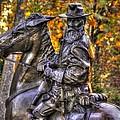 War Horses - Lieutenant General James Longstreet Commanding First Corps Gettysburg by Michael Mazaika