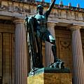 War Memorial Statue Youth In Nashville by Dan Sproul