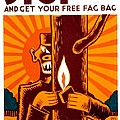 War Poster - Ww2 - Fire Safety by Benjamin Yeager
