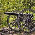 War Thunder - 5th United States Artillery Hazletts Battery - Little Round Top Gettysburg Spring by Michael Mazaika