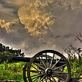 War Thunder - The Clouds Of War 2a - 4th New York Independent Battery Above Devils Den Gettysburg by Michael Mazaika