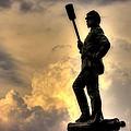 War Thunder - The Clouds Of War - 4th New York Independent Battery Near Devils Den Gettysburg by Michael Mazaika