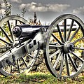War Thunder - The Letcher Artillery Brander's Battery West Confederate Ave Gettysburg by Michael Mazaika