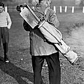 War Time On The Golf Course by Underwood Archives