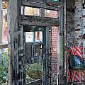 Warehouse Broken Doors And Windows by Anita Burgermeister