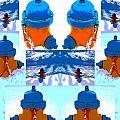 Warhol Firehydrants by Nina Silver