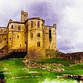 Warkworth Castle by Don Kuing