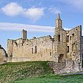 Warkworth Castle Panorama by David Head