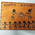 Warli Birthday by Deepika B
