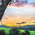 Warm Sunset by Johan Hofman