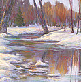 Warm Winter Reflections by Billie Colson