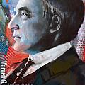 Warren G. Harding by Corporate Art Task Force