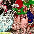 Warrior Tada No Manchu 1880 by Padre Art