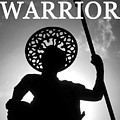 Warrior White Text by David Lee Thompson