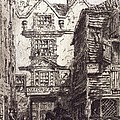 Warwick Lane, London, 19th Century by British Library