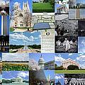 Washington D. C. Collage 2 by Allen Beatty