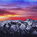 Wasatch Sunrise 2x1 by Chad Dutson