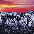 Wasatch Sunrise 3x1 by Chad Dutson