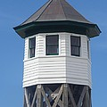 Wash Woods Coast Guard Tower by Cathy Lindsey