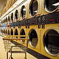 Washing Machines At Laundromat by Amy Cicconi