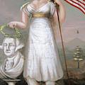 Washington & Liberty, C1810 by Granger