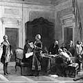 Washington And Lafayette by Granger