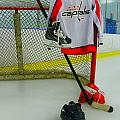 Washington Capitals Home Hockey Jersey by Lisa Wooten