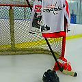 Washington Capitals Mike Green Away Hockey Jersey by Lisa Wooten