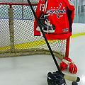 Washington Capitals Nicklas Backstrom Home Hockey Jersey by Lisa Wooten