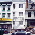 Washington Chinatown In The 1980s by Thomas Marchessault