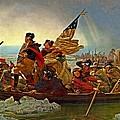 Washington Crossing The Delaware Emanuel Leutze 1851 by Movie Poster Prints