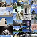 Washington D. C. Collage 3 by Allen Beatty