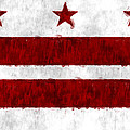 Washington D.c. Flag by World Art Prints And Designs