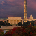 Washington Dc Iconic Landmarks by Susan Candelario