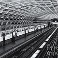 Washington Dc Metro Station I by Clarence Holmes