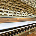 Washington Dc Metro Station Vii by Clarence Holmes