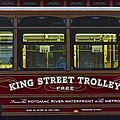 Washington Dc Trolley by Frozen in Time Fine Art Photography