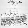 Washington: Journal, 1781 by Granger