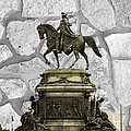 Washington Monument At Eakins Oval by Trish Tritz