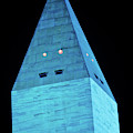 Washington Monument At Night by Panoramic Images